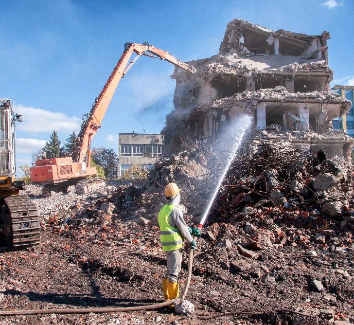Entreprise de démolition près de Chartres